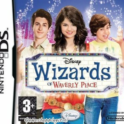 Foto van Disney Wizards Of Waverly Place NDS