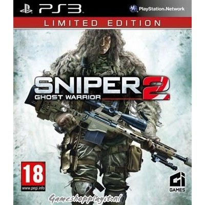 Sniper 2, Ghost Warrior (Limited Edition) PS3