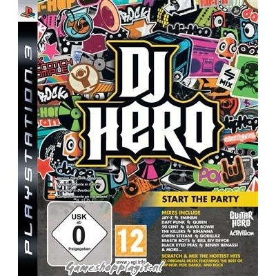 Dj Hero (Game Only) PS3