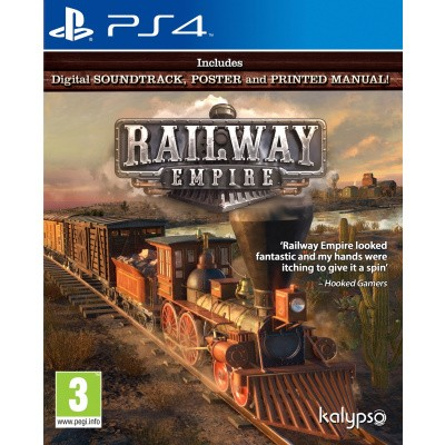 Foto van Railway Empire PS4