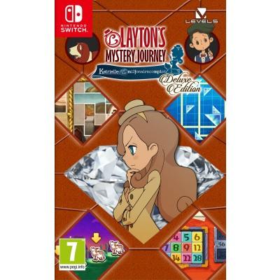 Layton's Mystery Journey: Katrielle en het Miljonairscomplot - Deluxe Edition Nintendo Switch