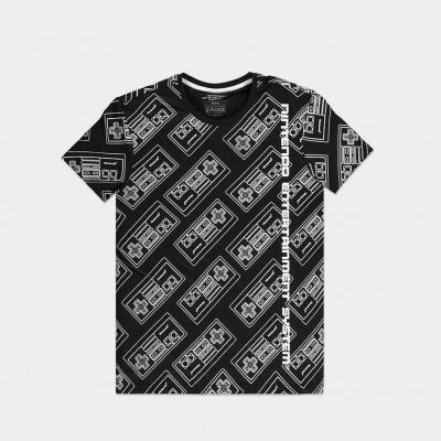 Foto van Nintendo - NES AOP Men's T-shirt - L