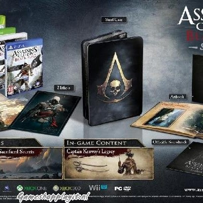 Foto van Assassin's Creed IV Black Flag Skull Edition XBOX 360