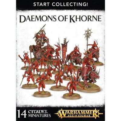 Foto van Start Collecting! Daemons Of Khorne Warhammer Age of Sigmar