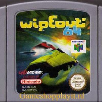 Foto van Wipeout 64 (Losse Cassette)