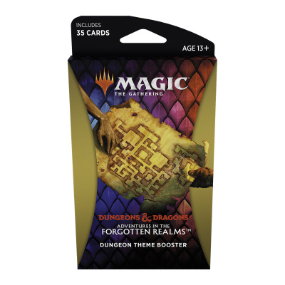 TCG Magic The Gathering D&D Forgotten Realms Dungeon Theme Booster MAGIC THE GATHERING