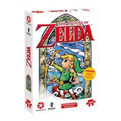 Foto van The Legend Of Zelda Link Hero's Bow Puzzle 360pc PUZZLE