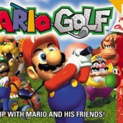 Foto van Mario Golf (Losse Cassette)