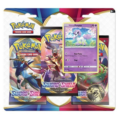 Foto van TCG Pokémon Sword & Shield Booster Packs - Ponyta POKEMON