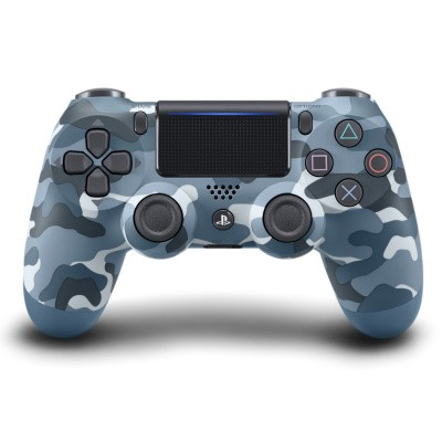 Sony Wireless Dualshock 4 Controller V2 - Blue Camouflage PS4