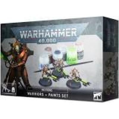 Foto van Necrons: Warriors + Paint Set WARHAMMER 40K