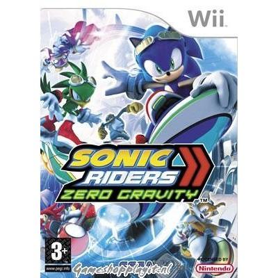 Sonic Riders Zero Gravity WII
