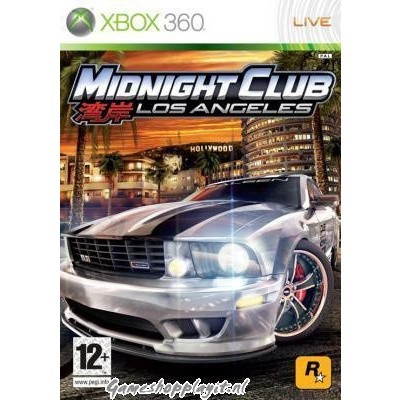 Foto van Midnight Club Los Angeles XBOX 360