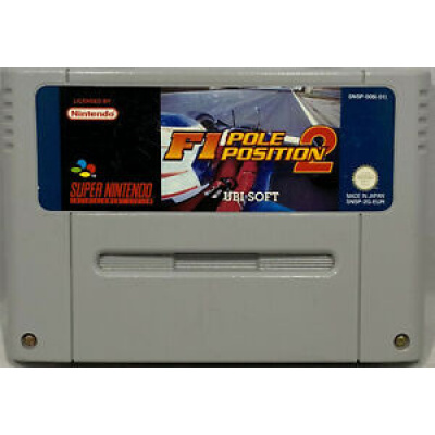 Foto van F1 Pole Position 2 (Losse Cassette) SNES