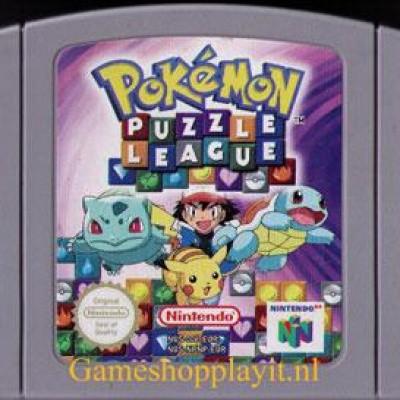 Foto van Pokemon Puzzle League (Losse Cassette) N64