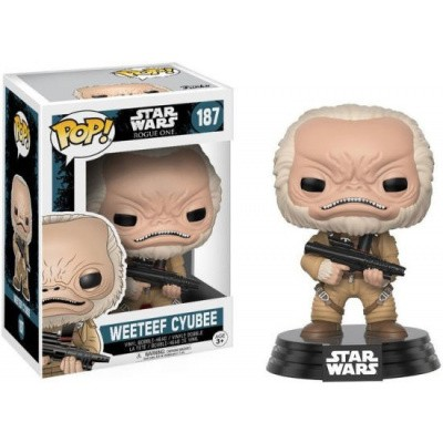 Foto van Pop! Star Wars: Rogue One - Weeteef Cyubee FUNKO