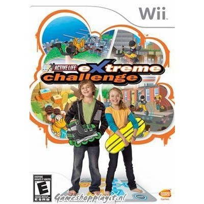 Family Trainer Extreme Challenge (game only) WII