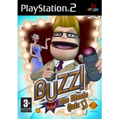Buzz! The Music Quiz (Game Only) PS2