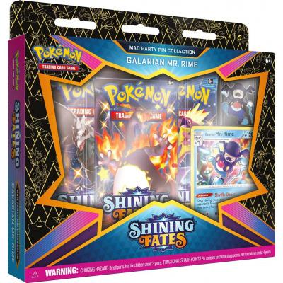 TCG Pokémon Shining Fates Mad Party Pin Collection - Galarian Mr. Rime POKEMON
