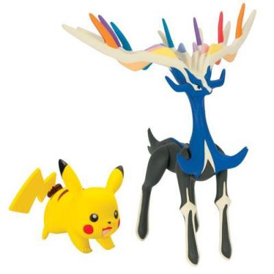 Pokemon X&Y Battle Figure Pack - Pikachu + Xerneas MERCHANDISE