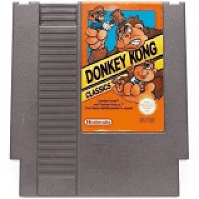 Foto van Donkey Kong Classics (Losse Cassette) NES