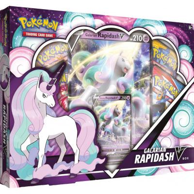 TCG Pokémon Galarian Rapidash V Box POKEMON
