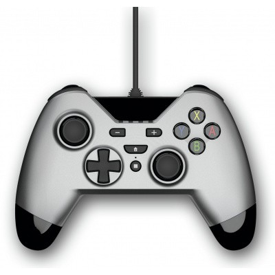 Foto van Gioteck VX4 Premium Wired Controller (Silver) SWITCH