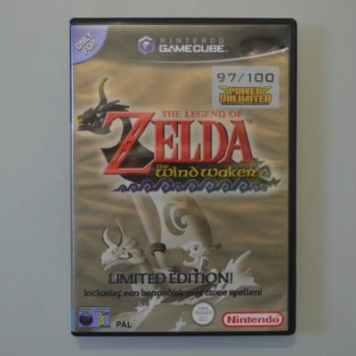 Foto van The Legend Of Zelda: The Wind Waker Limited edition NGC