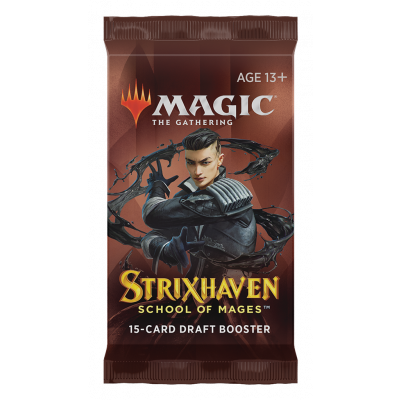 TCG Magic The Gathering Strixhaven Booster Pack MAGIC THE GATHERING