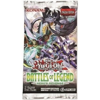 Foto van TCG Booster Pack Yu-Gi-Oh! Battles Of Legend Hero's Revenge YU-GI-OH