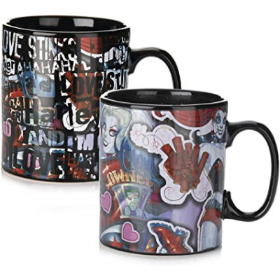 DC Comics - Harley Quinn Heat Change XL Mug MERCHANDISE