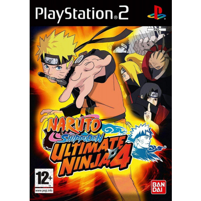 Naruto Shippuden Ultimate Ninja 4 PS2