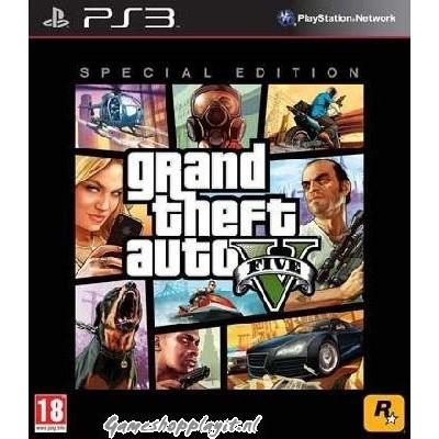 Foto van Grand Theft Auto 5 (Gta V) Special Edition PS3