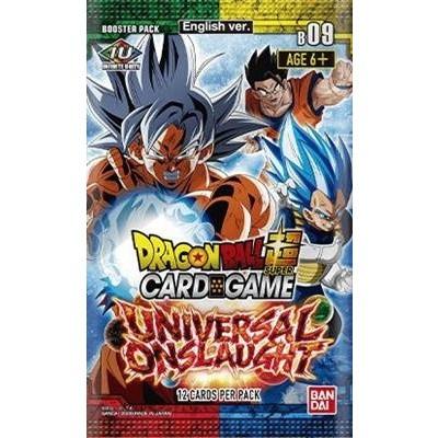 Foto van TCG Dragon Ball SCG 9 Universal Onslaught Booster Pack DRAGON BALL