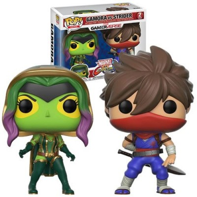 Foto van Pop! Games: Marvel vs Capcom Infinite - Gamora vs Strider Exclusive FUNKO