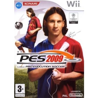 Pro Evolution Soccer 2009 (Pes 2009) WII