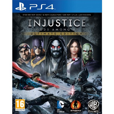 Foto van Injustice Gods Among Us Ultimate Edition PS4