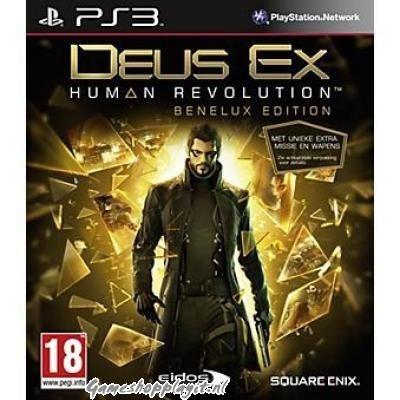 Deus Ex Human Revolution Benelux Edition PS3