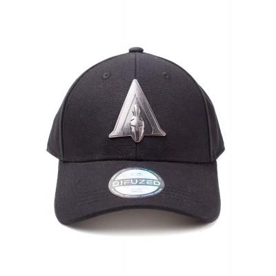 Foto van Assassin's Creed Odyssey - Metal Badge Odyssey Logo Curved Bill Cap MERCHANDISE