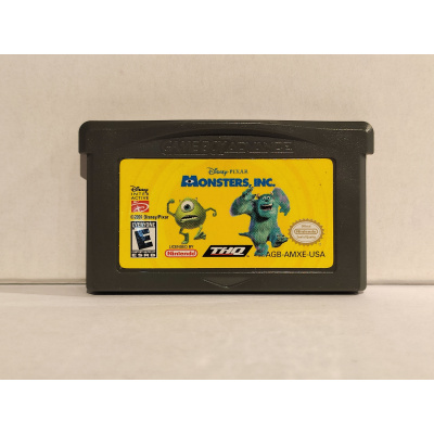 Foto van Monsters, Inc. GBA LOSSE GAME