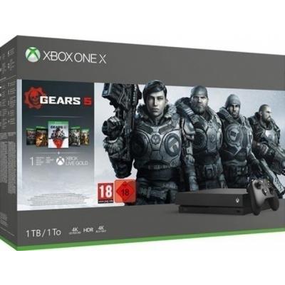 Foto van Xbox One X Console 1Tb + Gears 5 XBOX ONE
