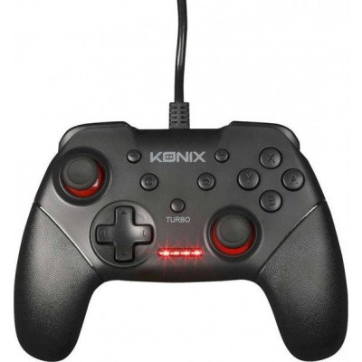 Foto van Konix Wired Pro Gaming Controller SWITCH