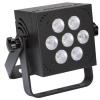 Afbeelding van MINI LED-PAR - 7 x 8 W RGB - VIERKANT