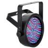 Afbeelding van SMART LED PAR56 - ABS - ZWART - DUBBELE BEUGEL - 108 x 10mm LEDs