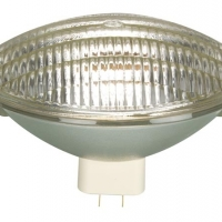 Foto van HALOGEENLAMP GENERAL ELECTRIC 500W / 240V, PAR64, GX16D, MF, CP88