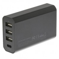 Foto van Lader 4 - Uitgangen 8 A USB / USB-C Zwart