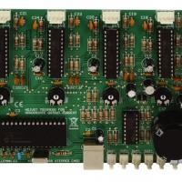 Foto van 4-KANAALS STAPPENMOTORKAART MET USB-INTERFACE