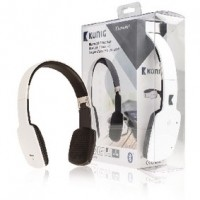 Foto van Bluetooth headset wit