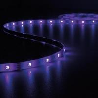 Foto van KIT MET MUZIEKGESTUURDE LED-STRIP, CONTROLLER EN VOEDING - RGB - 150 LEDs - 5 m - 12 VDC