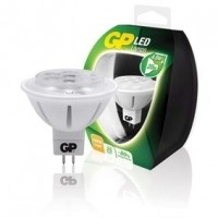 Foto van LED-lamp reflector MR16 GU5.3 4 W = 20 W